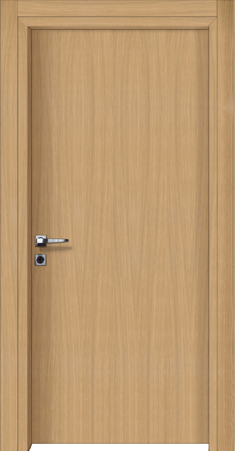 Εσωτερικές πόρτες με επιφάνεια ξύλου δρύς φυσικό