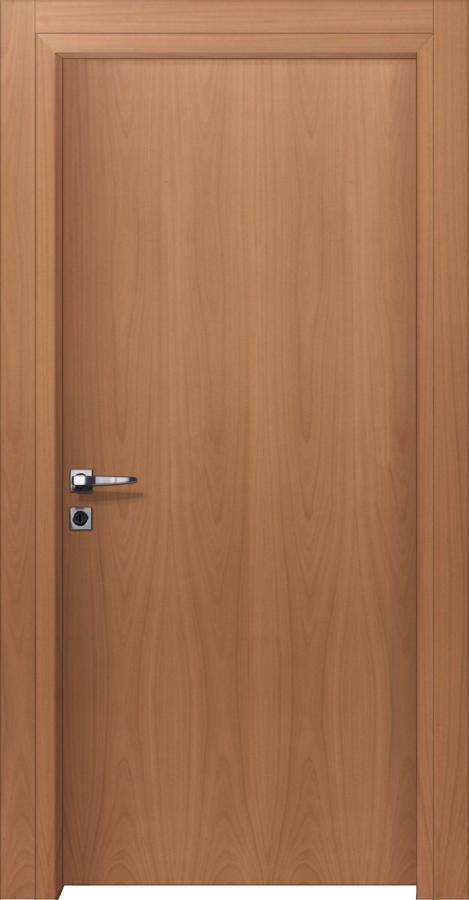 Εσωτερικές πόρτες με επιφάνεια ξύλου οξυάς