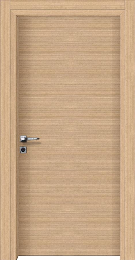Εσωτερικές πόρτες με επιφάνεια ξύλου τεχνητό δρύς οριζόντιο