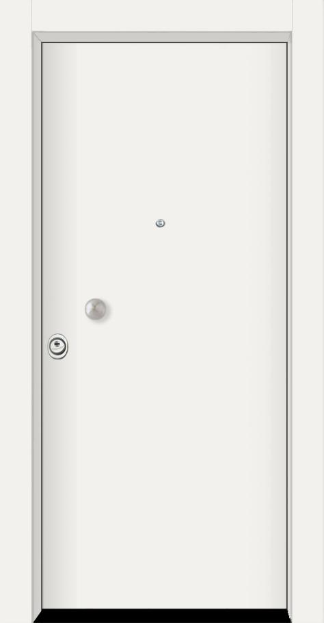 Θωρακισμένη με λευκή επιφάνεια αλουμινίου Ral9003