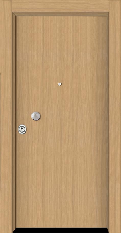 Θωρακισμένη πόρτα δρυς