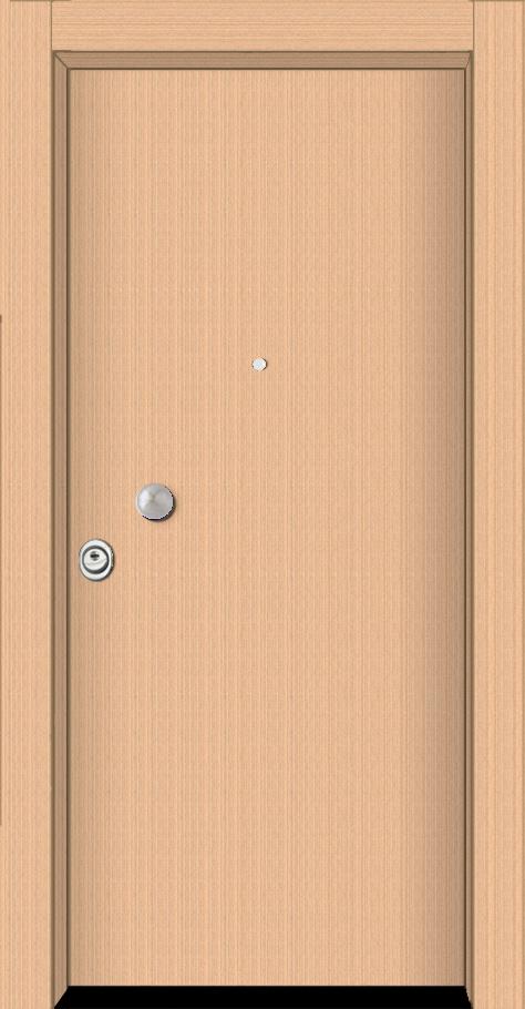 Θωρακισμένη πόρτα τεχνητό Ανεγκρέ